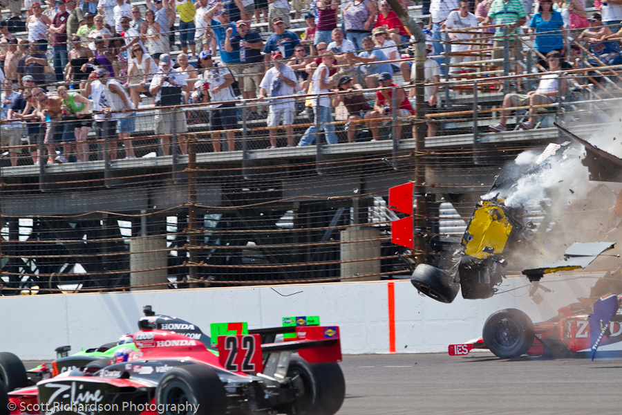 Indy 500 Race 20100530 0776 Indianapolis 500   Conway Wreck